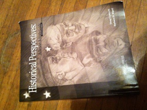 Historical Perspectives A Reader and Study Guide: Doug Cantrell, Barbara