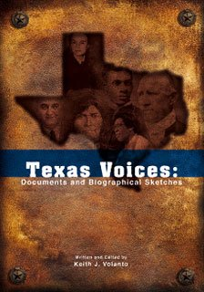 9781890919856: Texas Voices: Documents and Biographical Sketches