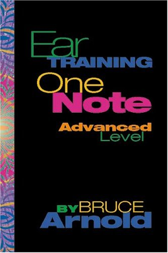 9781890944148: Ear Training: One Note Advanced Level