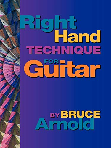 9781890944544: Right Hand Technique for Guitar