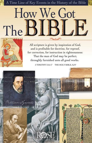 9781890947057: How We Got the Bible pamphlet- pkg of 5 pamphlets (Increase Your Confidence in the Reliability of the Bible)