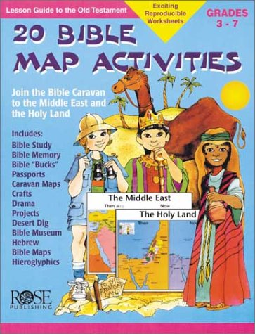 9781890947064: 20 Bible Map Activities (Make Learning Fun!)
