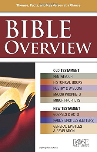 9781890947712: Bible Overview pamphlet: Know Themes, Facts, and Key Verses at a Glance