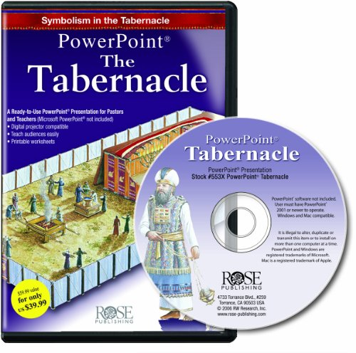 Tabernacle PowerPoint Presentation: Symbolism in the Tabernacle: Rose Publishing