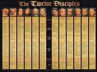 9781890947910: The Twelve Disciples Wall Chart (Twelve Disciples)
