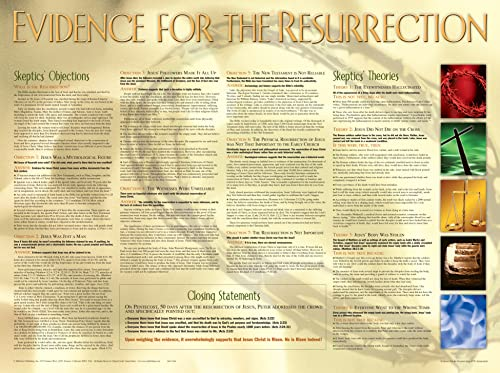 9781890947965: Evidence Wall Chart-Laminated (Evidence for the Resurrection)
