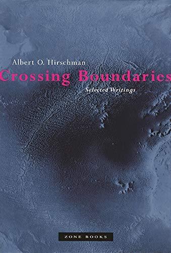 9781890951047: Crossing Boundaries: Selected Writings