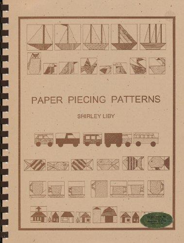 9781890952075: Paper Piecing Patterns