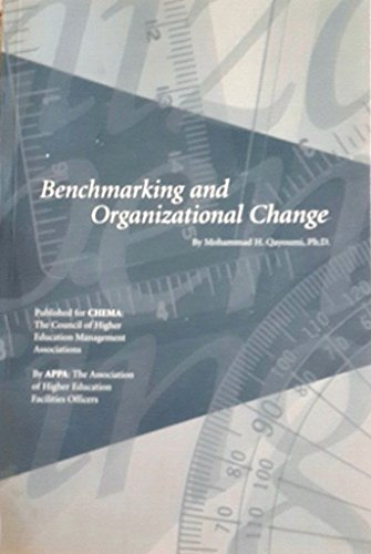 9781890956141: Benchmarking and organizational change