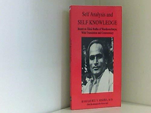 9781890964283: Self Analysis and Self Knowledge