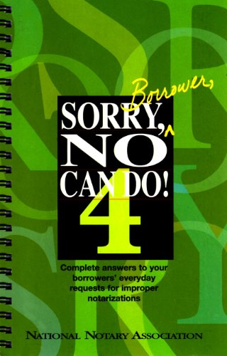9781891133817: Sorry, Borrower, No Can Do!, 4