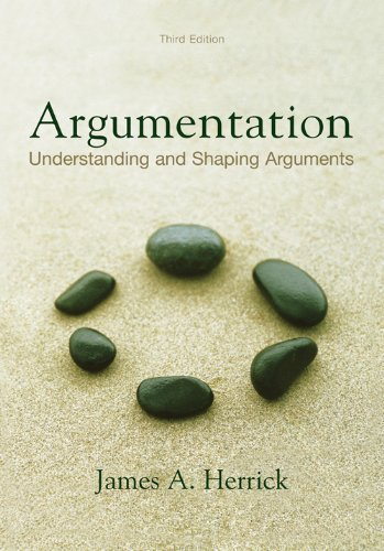 9781891136177: Argumentation: Understanding and Shaping Arguments, third edition