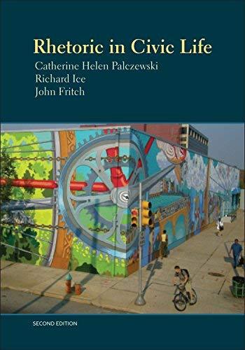 9781891136375: Rhetoric in Civic Life, 2nd edition