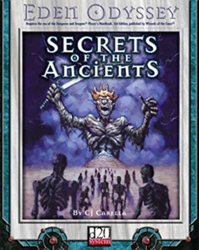 Secrets Of The Ancients (d20): Carella, C.J.