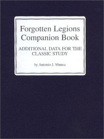 9781891227073: Forgotten Legions Booklet