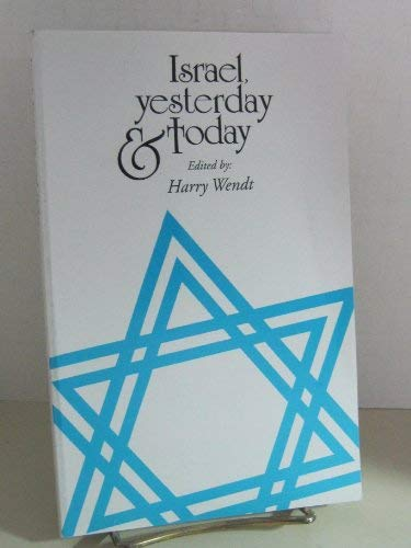 Israel, Yesterday and Today: Jimmy Carter, Kenneth