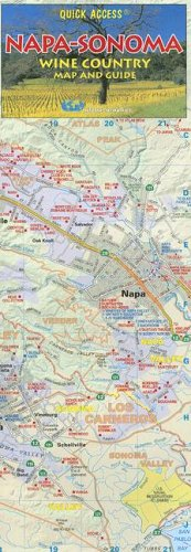 Napa and Sonoma Wine Country Map and Guide (California Wine Region Maps): Graphics, Global