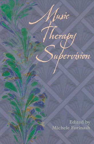 9781891278112: Music Therapy Supervision