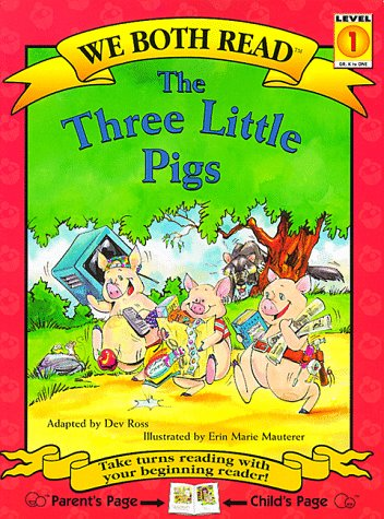 The Three Little Pigs (We Both Read, Level 1)