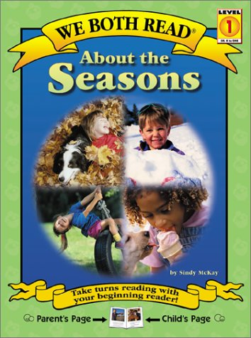 9781891327285: About the Seasons (We Both Read, Level 1)
