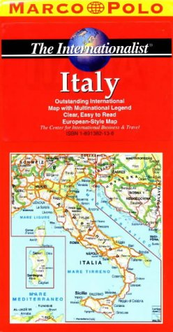9781891382130: Road Map of Italy. Easy to Read Maps for Safe and Enjoyable Travel (Road Maps of the World)