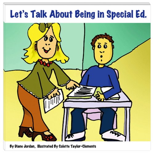 9781891383380: Let's Talk About Being in Special Ed