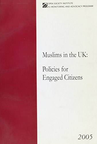 9781891385421: Muslims in the UK: Policies for Engaged Citizens