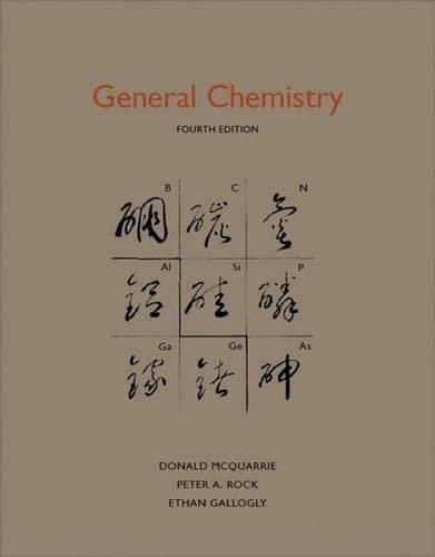 General Chemistry: McQuarrie, Donald A.;