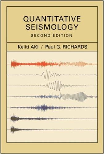 9781891389634: Quantitative Seismology