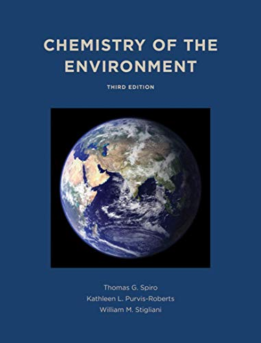 9781891389702: Chemistry of the Environment