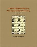 9781891389733: Student Solutions Manual to Accompany General Chemistry: RSC