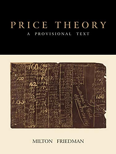 9781891396892: Price Theory: A Provisional Text