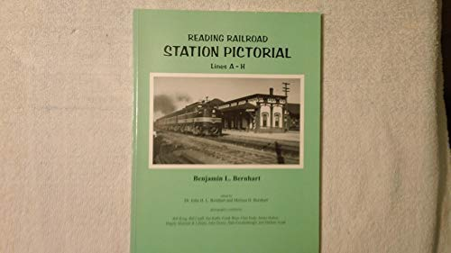 Reading Railroad Station Pictorial Lines A-H