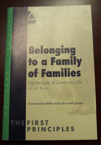 Belonging to a Family of Families, First: Jeff Reed