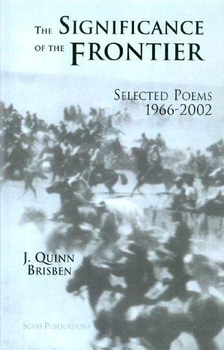 9781891470578: Significance of the Frontier: Selected Poems 1966-2002