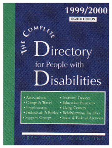 The Complete Directory for People with Disabilities, 1999/2000: Laura Mars