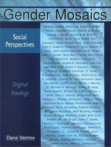 9781891487460: Gender Mosaics: Social Perspectives (Original Readings)