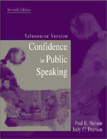 9781891487798: Confidence in Public Speaking: Telecourse Version