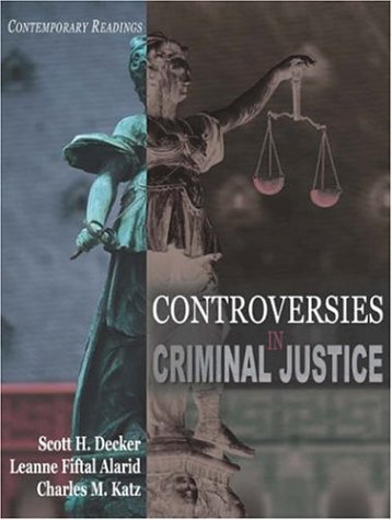 9781891487941: Controversies in Criminal Justice: Contemporary Readings