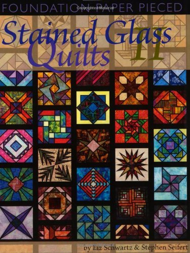 9781891497087: Foundation Paper Pieced Stained Glass Quilts II