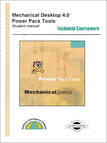 9781891502743: Mechanical Desktop 4.0 Power Pack Tools - Student Version