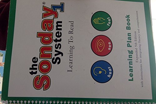 9781891602016: The Sonday system learning to read learning plan book
