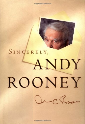 9781891620348: Sincerely, Andy Rooney