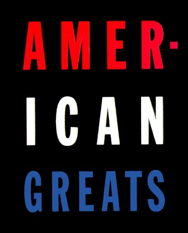 American Greats: Wilson, Robert; Marcus Stanley;(editors) [SIGNED]
