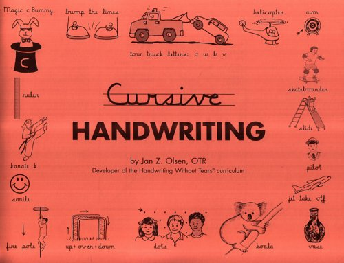 Cursive Handwriting - Contracted Edition: Jan Olsen