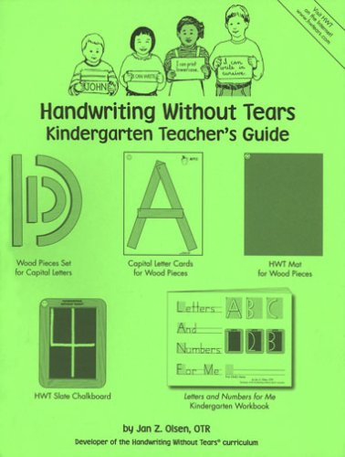 9781891627071: Handwriting Without Tears: Kindergarten Teacher's Guide