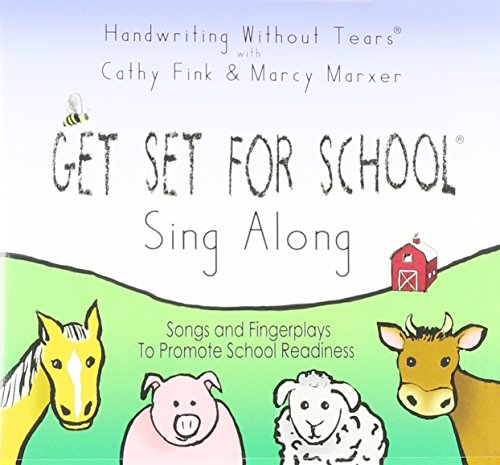 9781891627422: Get Set for School Sing Along: Songs and fingerplays to Promote School Readiness