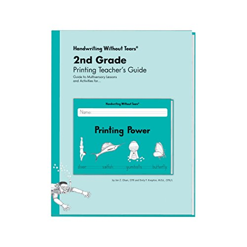 9781891627682: Second Grade Printing Teachers Guide