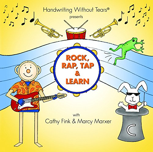 Rock, Rap, Tap, and Learn Readiness to Printing CD (Handwriting Without Tears): Cathy Fink