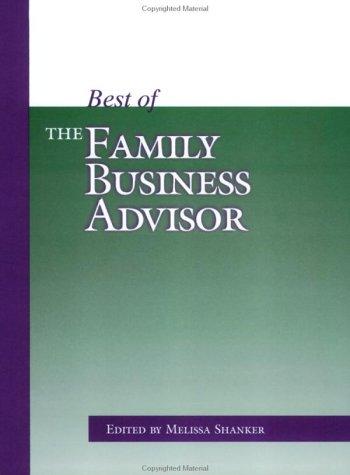 9781891652240: Best of the Family Business Advisor